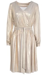 Золотое металлизированное платье La Reine Blanche