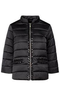 Черная куртка на синтепоне Acasta