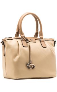 Объемная сумка из натуральной кожи Labbra