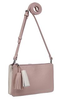 Двухцветная кожаная сумка Palio