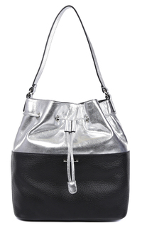Комбинированная сумка-мешок Fabretti
