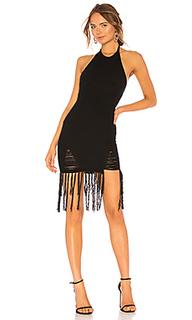 Вязаное мини платье rosalind - NBD