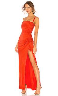 Асимметричное платье anusha - NBD