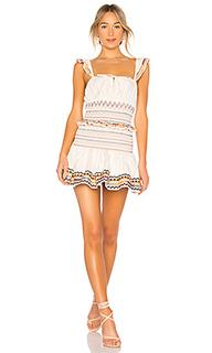 Жатое мини платье janine - Tularosa