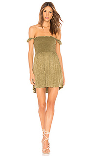 Платье flutter sleeve - Chaser