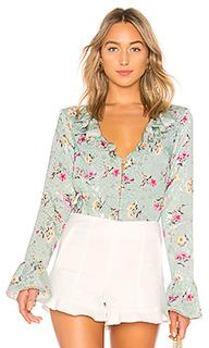 Блузка fleur - MAJORELLE