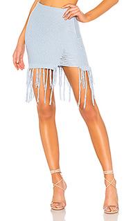 Вязаная мини юбка rosalind - NBD