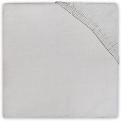 Простыня на резинке 60х120 см, Jollein, Light grey