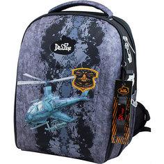 Ранец DeLune 7mini-012 с мешком для обуви и пеналом + часы