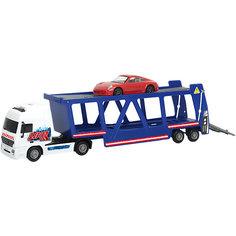 """Игровой набор Dickie toys """"Автовоз + машинка Porsche"""" 38 см, 1:43"""