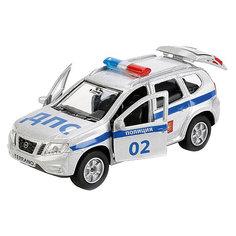 """Машинка Технопарк Nissan Terrano """"Полиция"""", 12 см"""
