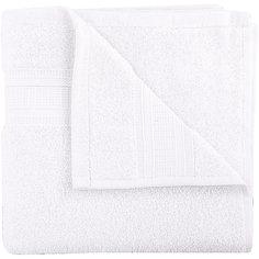 Полотенце махровое Mixandsleep 50*90/500 г/м2, TAC, белый