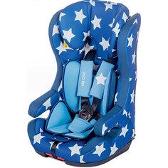 Автокресло BabyHit Fix One 9-36 кг, синий в белую звёздочку