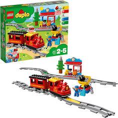 Конструктор LEGO DUPLO Town 10874: Поезд на паровой тяге