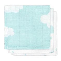 Салфетки для лица, 3шт, Clouds Jade (Нефритовые облака) Jollein