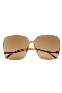 Полупрозрачные солнцезащитные очки Gucci