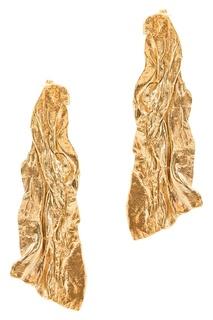Позолоченные серьги Ringstone