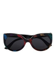 Солнцезащитные очки с глиттером Gucci