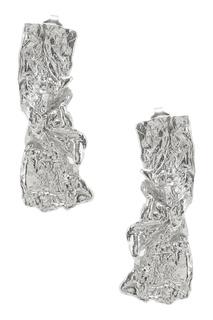 Серьги-палочки из серебра Ringstone