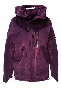 f8647195 Фиолетовая парка с карманами Grunge John Orchestra. Explosion