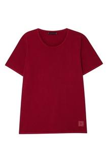 Бордовая футболка из хлопка Grunge John Orchestra. Explosion