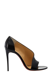 Черные лакированные туфли Phoebe 100 Christian Louboutin