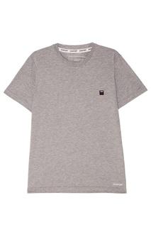 Серая меланжевая футболка Zasport