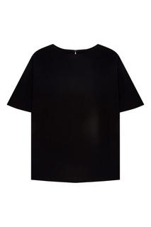 Черная футболка Erma