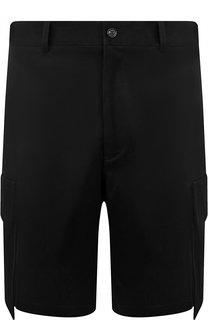 Хлопковые шорты с нашивными карманами Versace