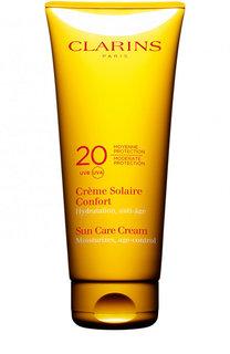 Солнцезащитный крем для лица и тела Crème Solaire Confort SPF 20 Clarins