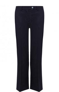 Укороченные расклешенные брюки из шерсти Kiton