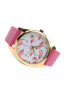 "Часы ""Розовый фламинго"" MITYA VESELKOV"