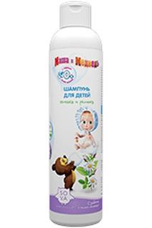 Шампунь для детей в возрасте о Маша и Медведь