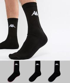 3 пары носков Kappa - Черный