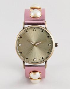 Часы ASOS DESIGN Metallic - Розовый