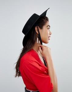 Шляпа ASOS DESIGN - Черный