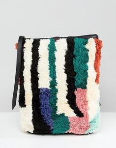 Фактурный мини-рюкзак Cleobella - Мульти