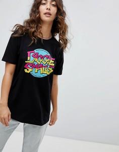 Черная футболка с принтом BIGGIE SMALLS ASOS DESIGN - Черный