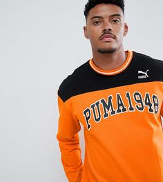 Свитер с круглым вырезом Puma - Оранжевый