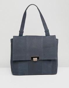 Кожаная сумка на плечо Urbancode - Черный