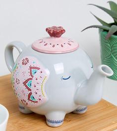 Заварочный чайник в форме слона эксклюзивно для Sass & Belle - Мульти