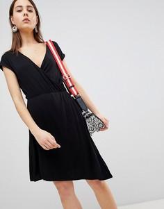 Платье с запахом Brave Soul Crissy - Черный