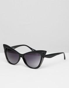 Солнцезащитные очки кошачий глаз Jeepers Peepers - Черный