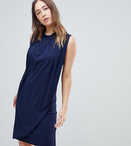 Платье для кормления с драпировкой Mamalicious - Черный