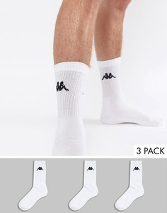 3 пары носков Kappa - Белый