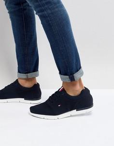 Темно-синие сетчатые кроссовки с флагом Tommy Hilfiger Tobias - Темно-синий
