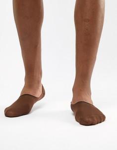 Темно-бежевые спортивные носки ASOS DESIGN - Коричневый