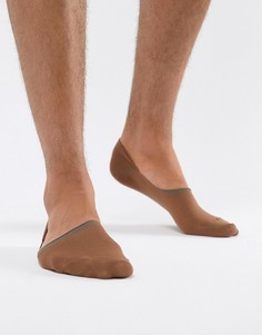 Невидимые носки телесного цвета ASOS DESIGN - Рыжий