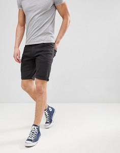 Черные шорты с 5 карманами Tom Tailor - Черный