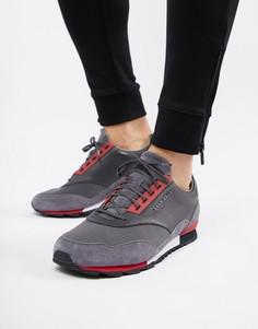 Темно-серые кроссовки BOSS Zephir - Серый